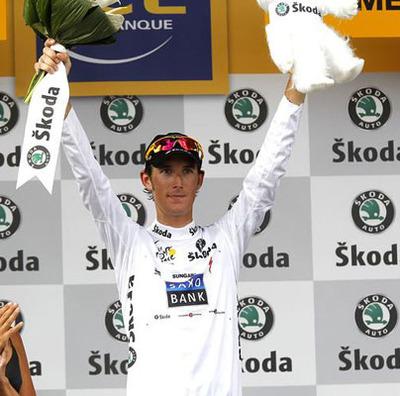 reputable site 7e784 c8412 Die Gewinner des Weißen Trikots der Tour de France ...