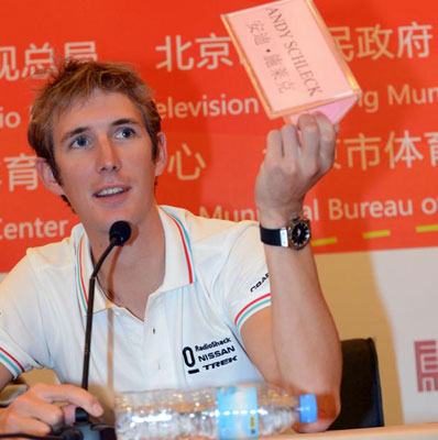 "Foto zu dem Text ""Andy Schleck: Neubeginn in China"""