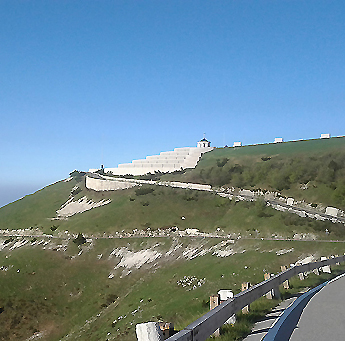 "Foto zu dem Text ""Monte Grappa Cycling: Helden-Anstieg am"