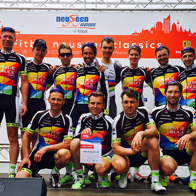 "Foto zu dem Text ""Merkur Cycling Team: Doppelsieg in Leipzig"""