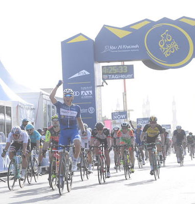 "Foto zu dem Text ""Highlight-Video der 2. Etappe der Dubai Tour"""