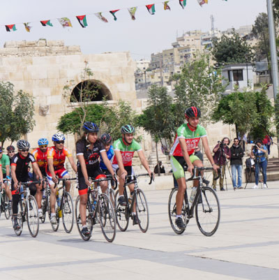 "Foto zu dem Text ""Middle East Cycling Tour: Gilberto Simoni bei der Premiere dabei"""