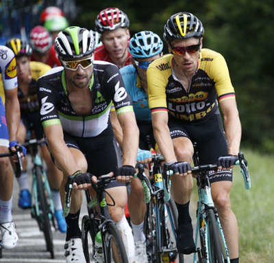 "Foto zu dem Text ""It´s always good to have an Eisel in the Gruppetto"""