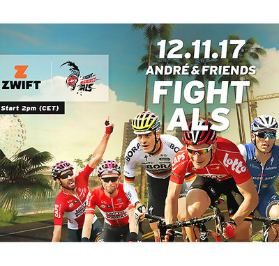 "Foto zu dem Text ""Zwift Charity Tour: André + Friends fight ALS"""