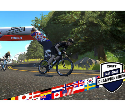 "Foto zu dem Text ""Zwift Nationals Championships: 15 Nationen kämpfen """