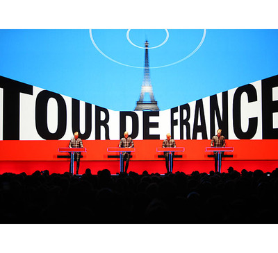 "Foto zu dem Text ""Kraftwerk: 15 Jahre ""Tour de France Soundtracks"""""