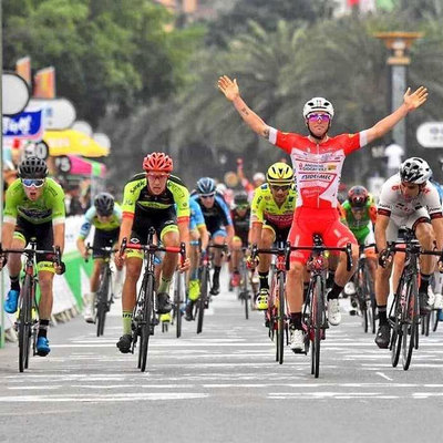 "Foto zu dem Text ""Das Finale der 5. Etappe der Tour of Hainan im Video"""