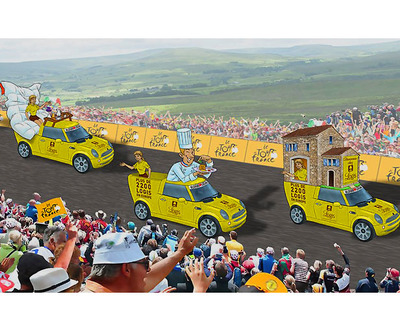 "Foto zu dem Text ""Logis Hotels + Restaurants: wird Partner der Tour de France"""
