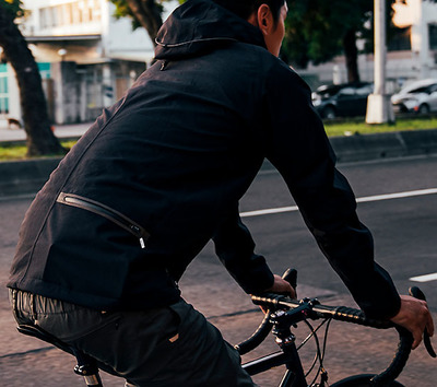 "Foto zu dem Text ""PedalED: neues Urban-Jacket ""Shiro"" """