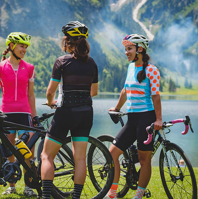 "Foto zu dem Text ""Women´s Cycling Camp: Ladies first..."""