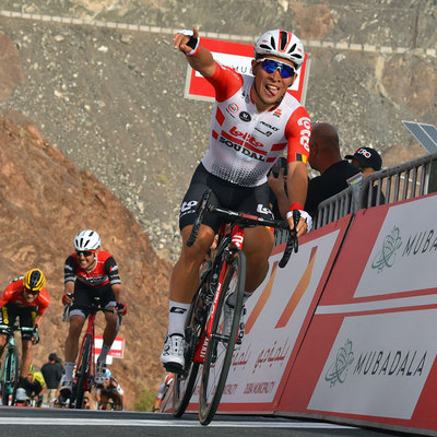 "Foto zu dem Text ""Finale der 4. Etappe der UAE Tour im Video"""