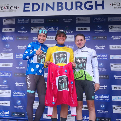 "Foto zu dem Text ""Bigla dominiert verregnete Premiere der Women´s Tour of Scotland"""