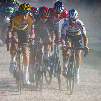 "Foto zu dem Text ""Highlight-Video der 15. Auflage der Strade Bianche"""