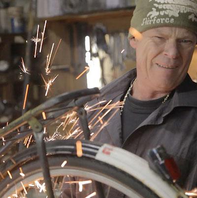 Internationales Fahrrad Film Festival Jubiläum Mit Rad Und